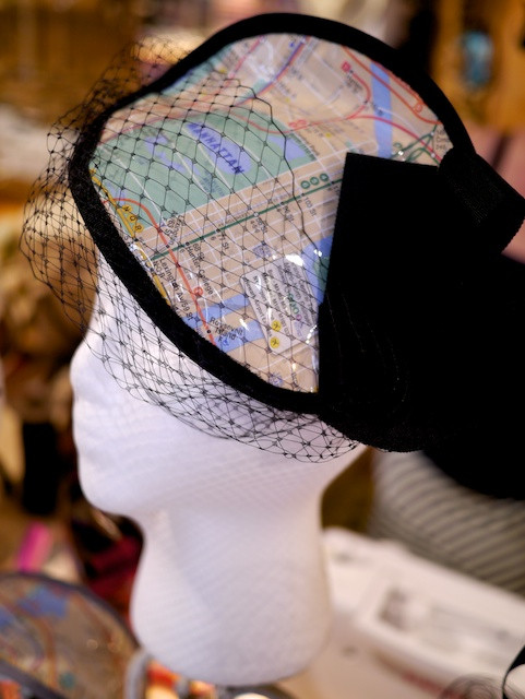 Katherine Carey Millinery's New NYC Map CollectionFascinator
