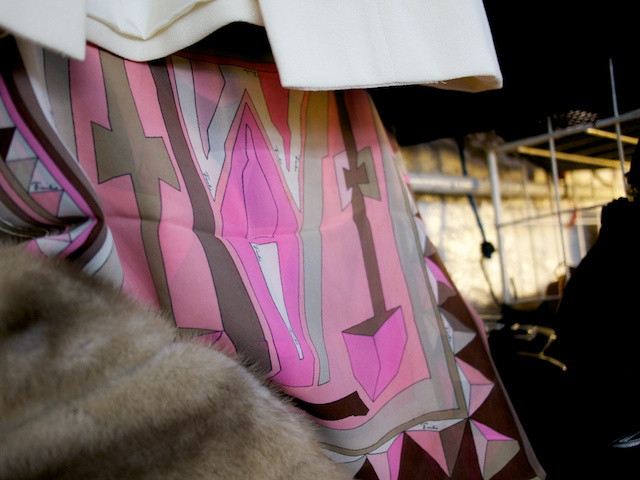 Vintage Pink Emilio Pucci Scarf - Abbottkinney at the Antiques Garage