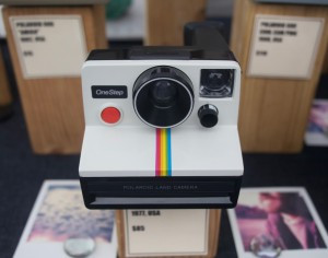 1972 Rainbow Stripe Polaroid Camera from Brooklyn Film Camera