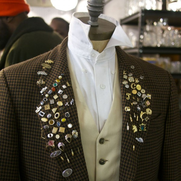 Lapel Pins, Collared Shirts and Button Vest - from Kingston Twenty One