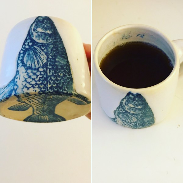 Take Me Homeware Fish Teacup May Luk