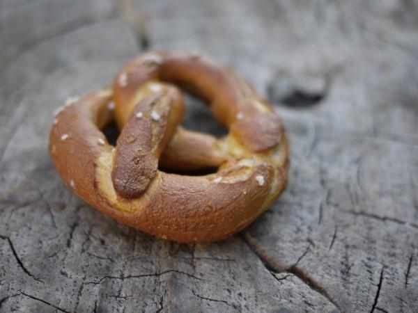 The perfect pretzel from Martin's at Union Square