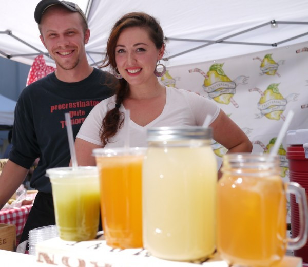 Frittering Away: Refreshing Iced Lemonade at the Astoria Flea