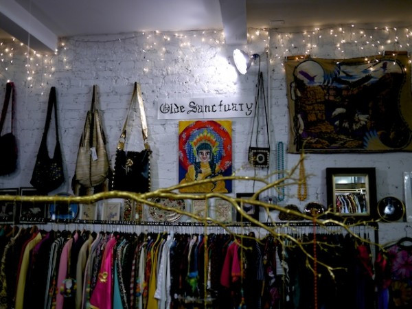 Olde Sanctuary Vintage Shop in The Underground at The Market NYC