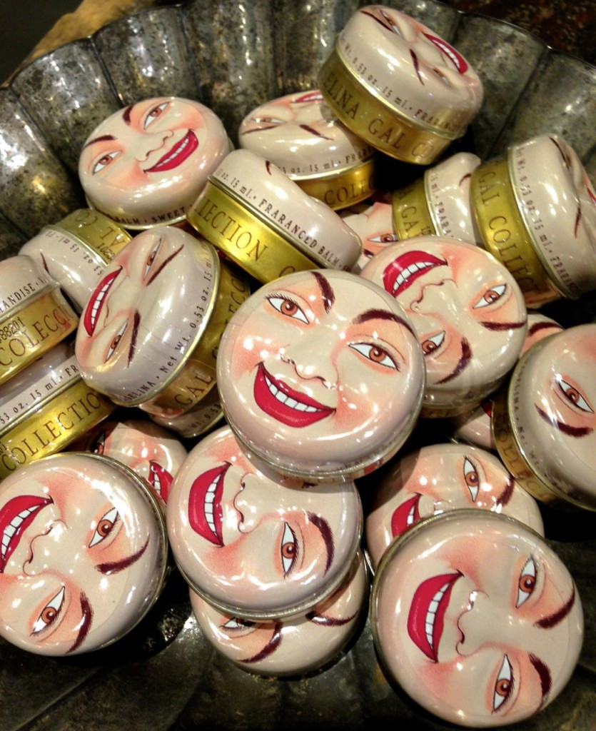 Smilng Moonface Tins from Junk Lab