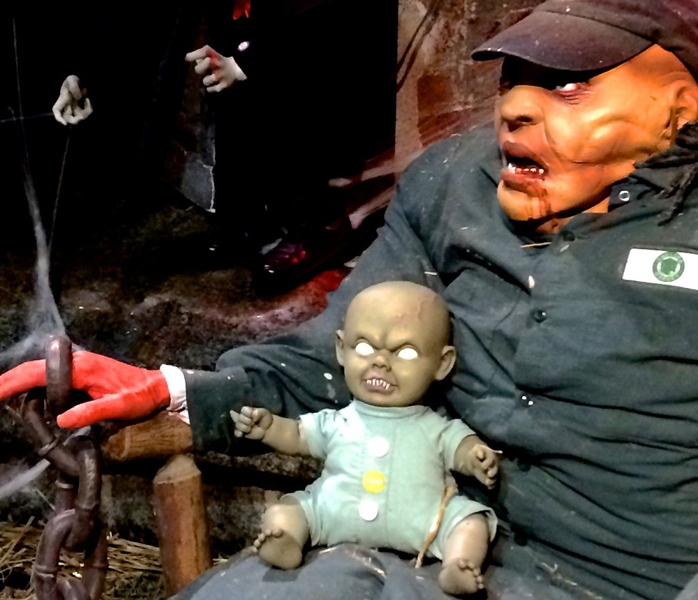Who doesn't love a zombie baby? Chelsea Market