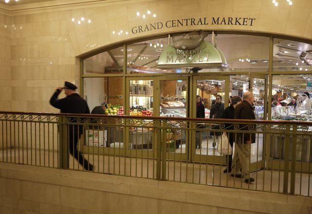 Entrance Grand Central Market