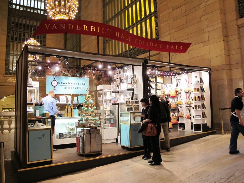 Centennial Booth at Grand Central Holiday Fair 2012
