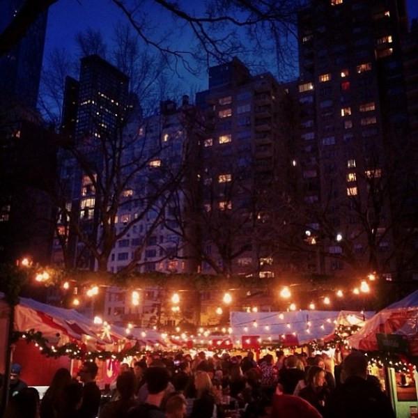 2014 Columbus Circle Holiday Market (Photo courtesy of Urban Space NYC)