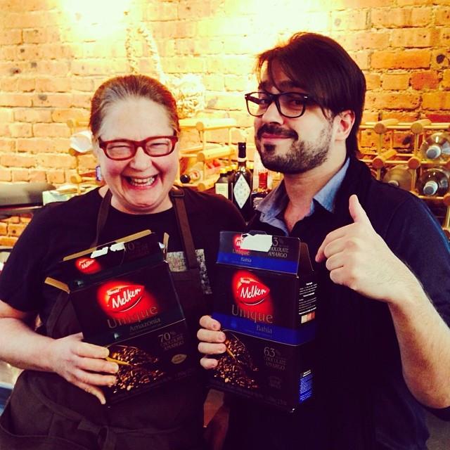 Lucas Corazza and Rhonda Kave - Friends in Chocolate