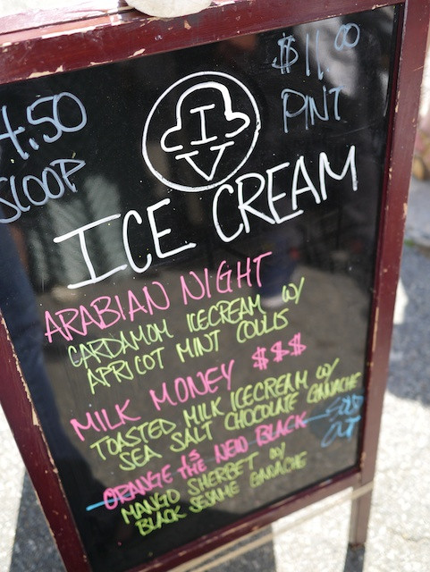 Ice & Vice Flavors at the Astoria Flea