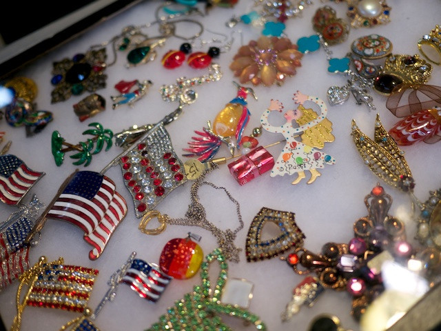 Need a sparkly brooch?