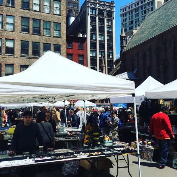 Chelsea Flea Market Will Be Open This Weekend After St. Sava Cathedral Fire