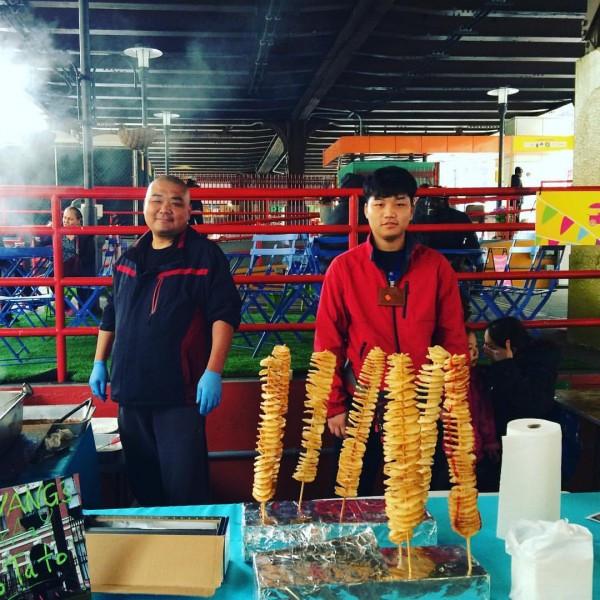 Mr. Wang's Crazy Potatoes at Vendy Plaza (Photo courtesy of Vendy Plaza)