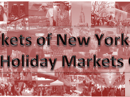 2013 Holiday Markets of New York City Guide