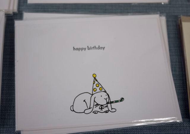Little Bunny Greeting Card Happy Birthday