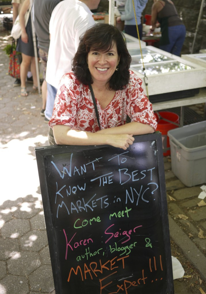 Karen Seiger, Author, Blogger, Market Enthusiast