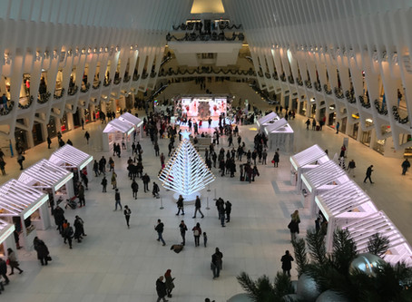 Bright New Holiday Market Downtown In The Oculus