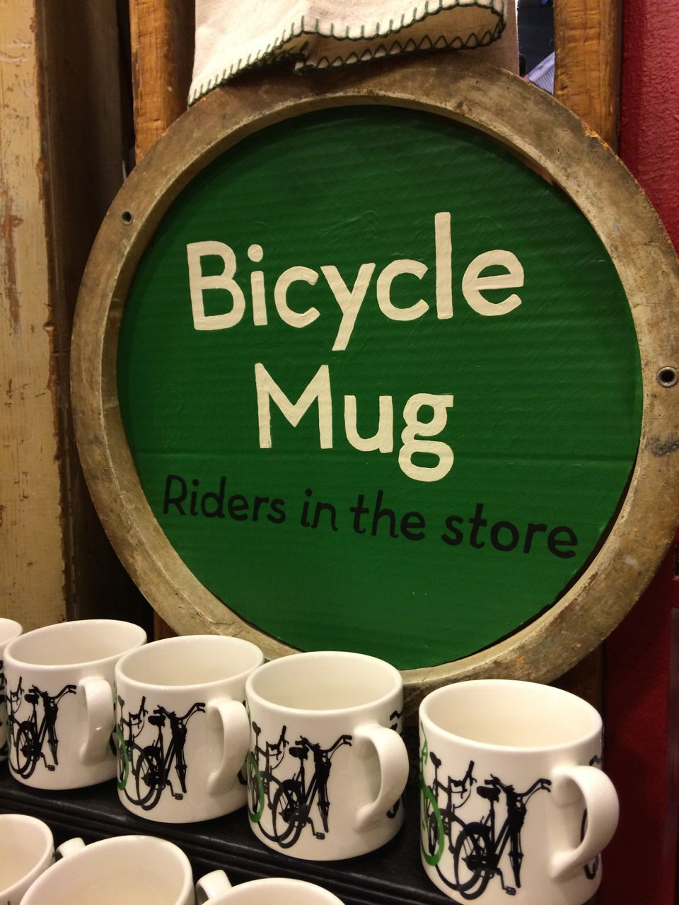 Pick up your own Taliah Lempert Bicycle Mug at Fishs Eddy
