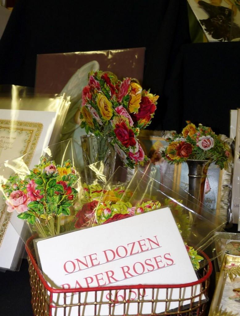 One Dozen Paper Roses by Geno Sartori