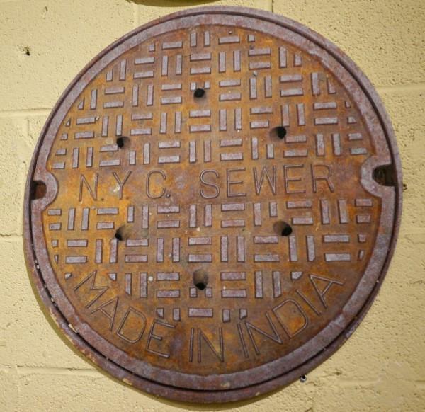 Vernakular Sewer Cover