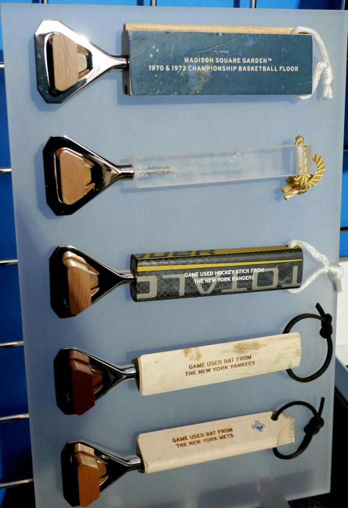 Bottle Openers Made With Professionally Used Sports Equipment - Urban Man Made