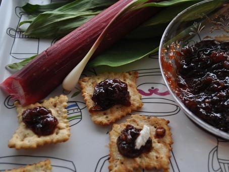 Guest Recipe: Ramp and Rhubarb Chutney