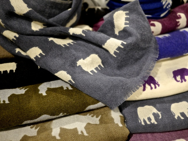 Soft Wool Scarves from Sophia Costas at ID Pop Shop