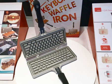 The Keyboard Waffle Iron: CONTROL-ALT-DELicious