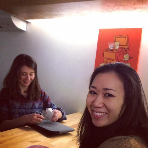 Emilie and Christina, Meow Parlour Co-Founders