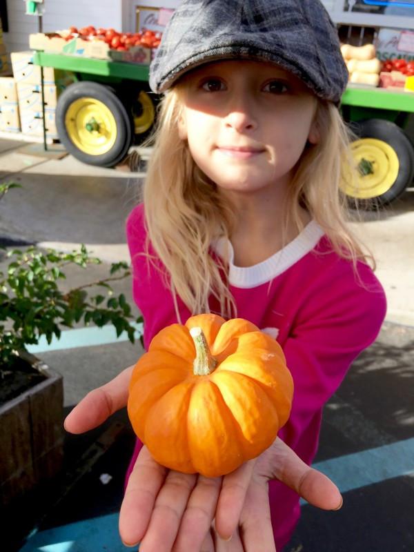 Tiny Niece, Tiny Pumpkin