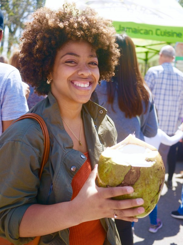 Beauty and the Coconut from Excell Eatery
