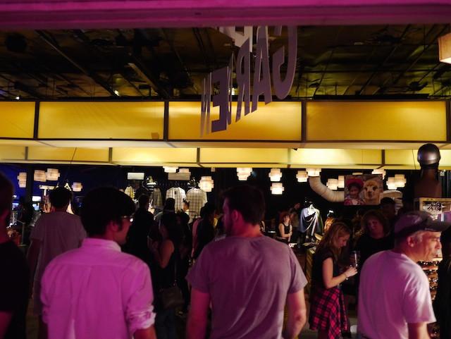 Entering the Brooklyn Night Bazaar