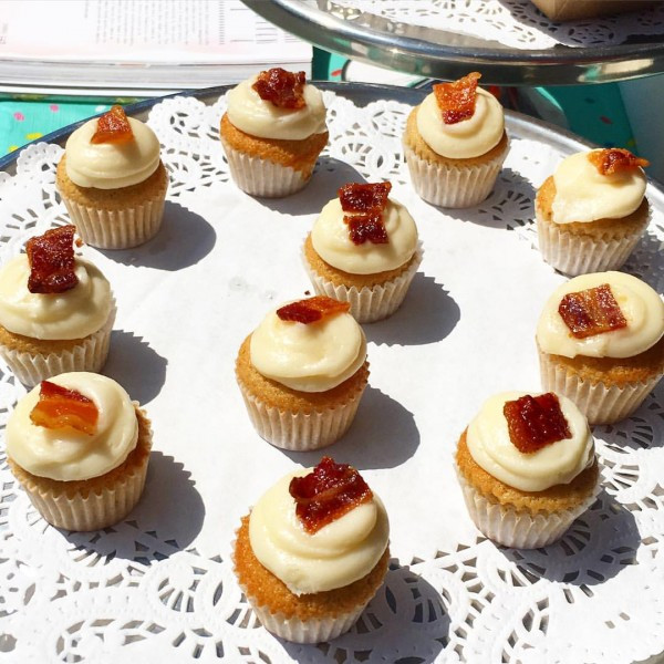 My soft spot for Butter & Scotch's Bacon Maple Mini cupcake