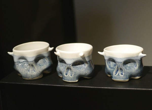 Ceramic Skulls made by END Elizabeth New Design