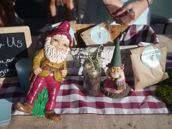 Love the gnome and his amazing baked goods!