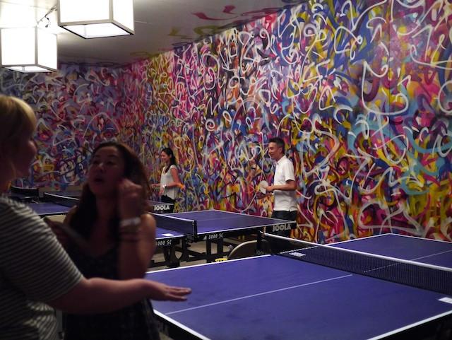 Ping Pong Room at the Brooklyn Night Bazaar
