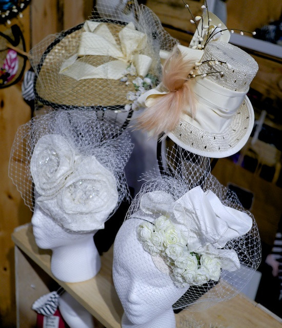 Katherine Carey Millinery Bridal Designs
