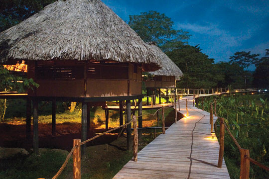 Cotton Tree Lodge in Belize - Looks splendid, right? (Photo courtesy of Cotton Tree Lodge)