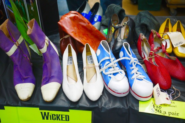Find incredible mementos from your favorite shows at the Broadway Cares Flea Market