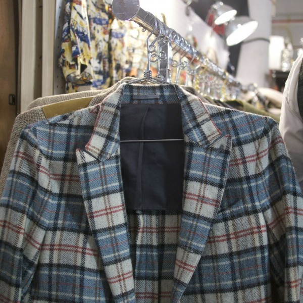 Someone Will Look Fabulous in this Plaid Sports Coat