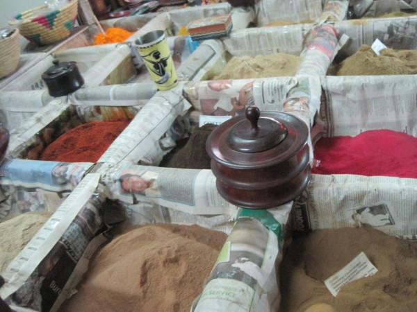 Spices in the world-famous markets of Zanzibar, off the coast of Tanzania