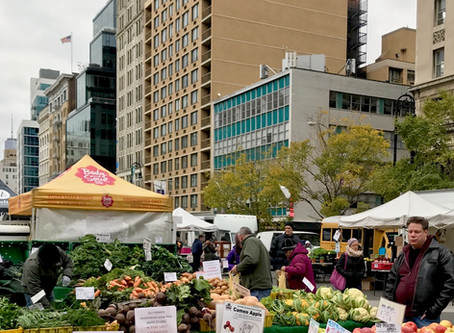 Get Yourself To A Greenmarket on Wednesday