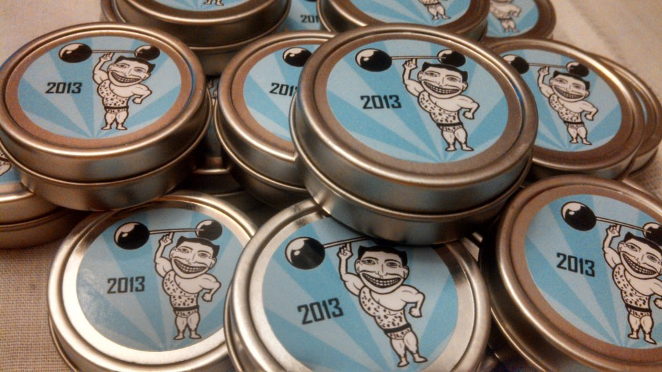 Count Justinian's Coney Island Strongman Spectacular Moustache Wax