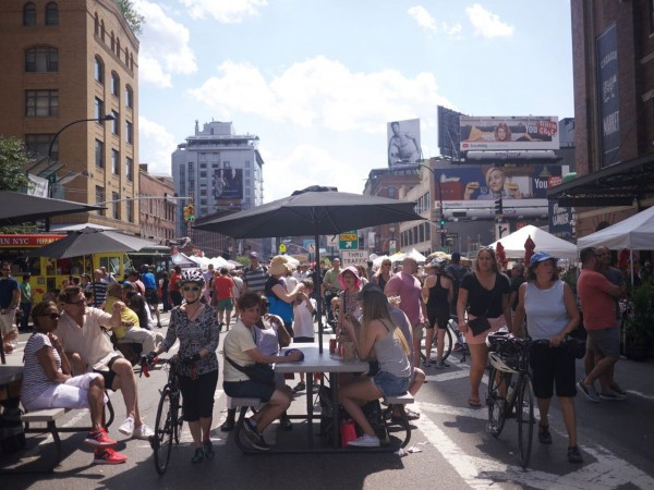 Pop Up New York's  Meatpacking Market in August 2015