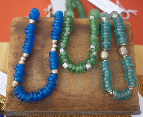 Saskia de Vries African Glass Jewelry