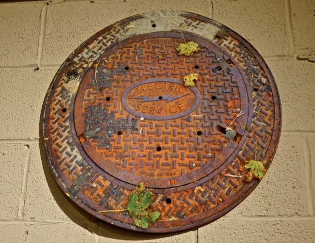 Who's tracking sand and leaves into your apartment? Vernakular Sewer Cover Door Mats!