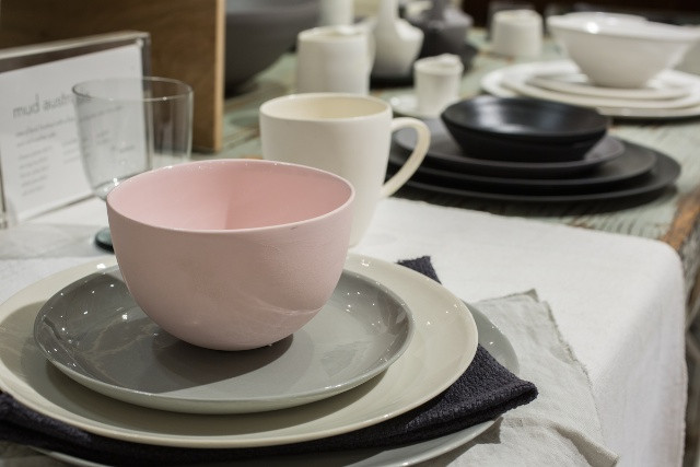 I find all the tableware irresistible, especially these pieces by Mud Australia