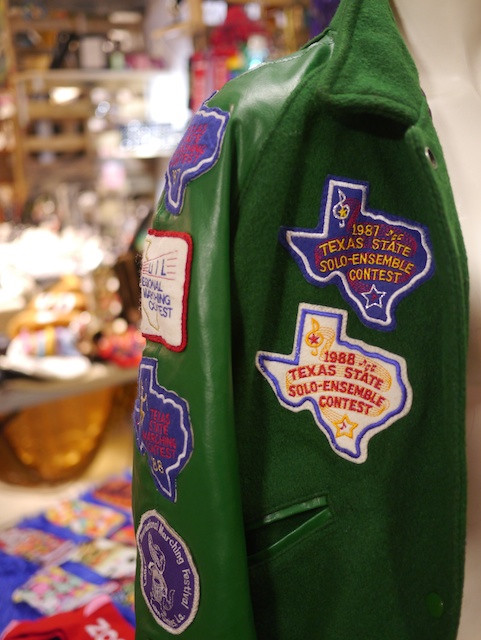 Olde Sanctuary Vintage Jacket with Choir and Band Patches