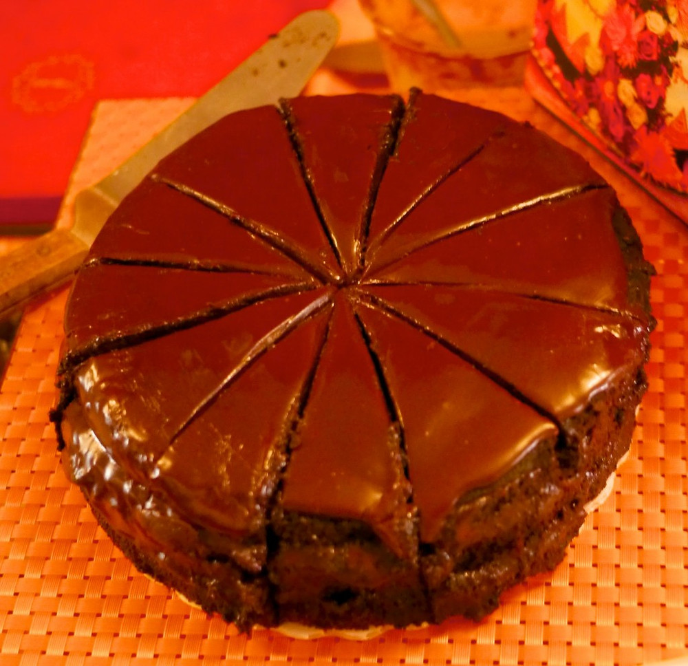 Chilli Chocolate Cake from Bittersweet NYC Bakery